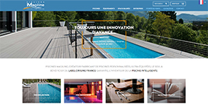 Site internet - Piscine Magiline